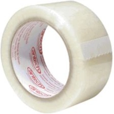 "Tape,2""X110Yd,1.6,Carton Seal Clear, HotMelt, 36/Cs, 90Cs/Sk"