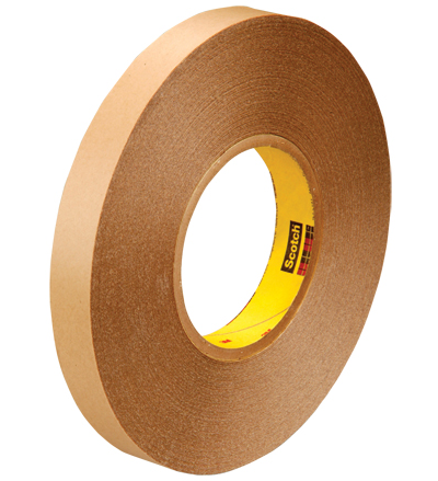 "Tape, Double Sided, 1"" x 72 yds, 5.8 mil, Film,"