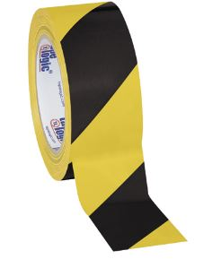 "Tape, Striped Safety Warning, 2"" x 36yd,"
