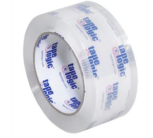 "Tape, 2"" x 55, 3.1mil. 36rolls/case, Crystal Clear"