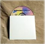 "5 x 5"" #CD1 White Paperboard CD Sleeve (500/Case)"